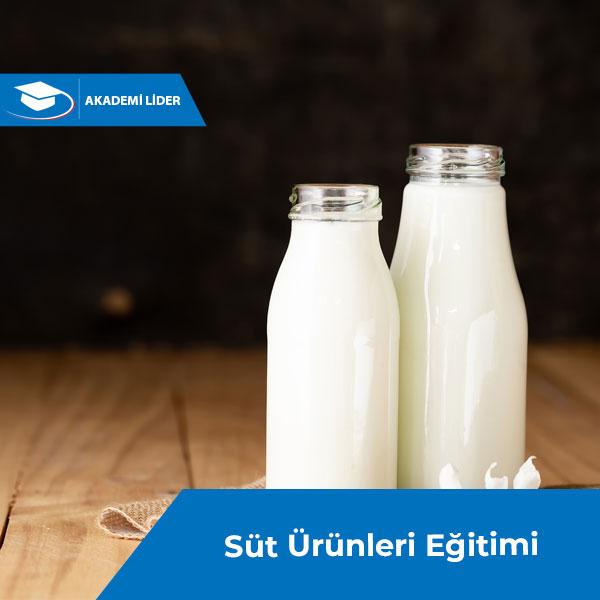 Süt ve Süt Ürünleri Eğitimi