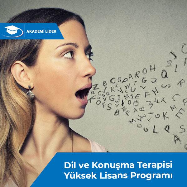 Dil ve Konuşma Terapisi Yüksek Lisans Programı
