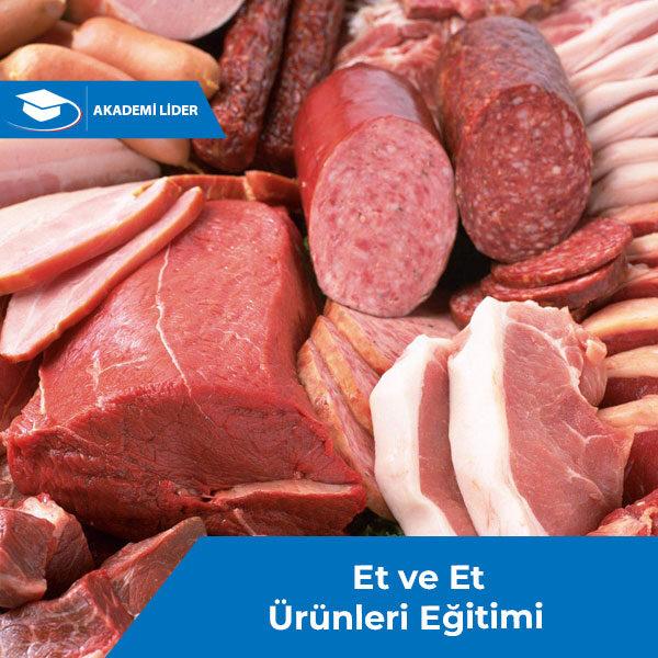 Et ve Et Ürünleri Eğitimi